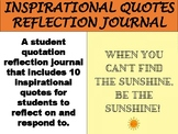 Inspirational Quotes Reflection Journal