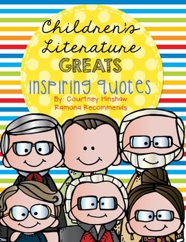 Inspirational Quotes Set I {Children's Authors Edition}