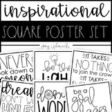 Inspirational Quotes: Square Printables