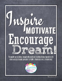Inspirational Quotes & Writing Prompts