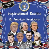 Inspirational Quotes by American Presidents