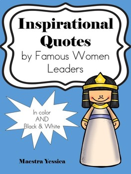 Inspirational Quotes by Famous Women (LEADERS)