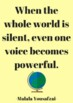 Inspirational Quotes by Women - 6 Posters