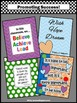 Back to School Encouragement Posters for Students Set of 4 Large 8x10 or 16x20