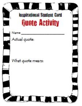 Back To School Quotes For Students By Wise Guys Tpt