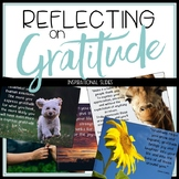 Inspirational Quotes of Gratitude for Slides and Posters