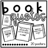 Inspirational Reading Classroom Book Quotes