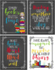 Inspirational Reading Posters