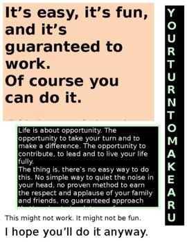 Inspirational  Seth Godin Poster for Classroom