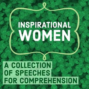 Inspirational Women: Speech Comprehension COMPLETE Set -Women's History Month