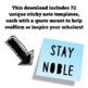 Inspirational Sticky Note Templates