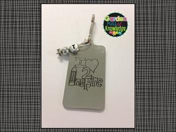 Inspirational Tags - Rectangular (Brag Tags, Key Chains, Lanyards)
