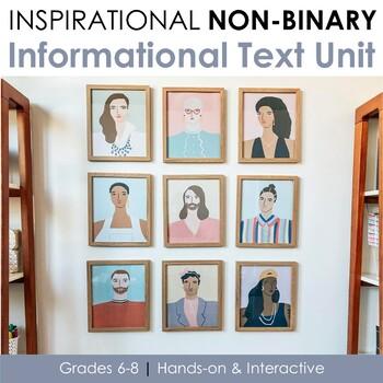 FREE Inspirational Non-Binary Journal, Classroom Decor & Info Text Articles