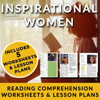 Inspirational Women - Readings w/ Activities for High School Students & Adults