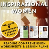 Inspirational Women - Readings w/ Activities for High Scho