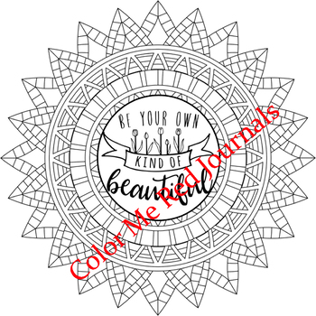 Inspirational Word Art Quotes Coloring Pages-Motivational Positive Statements