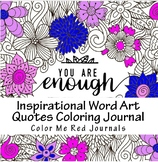 Inspirational Word Art Quotes Coloring Pages-Motivational