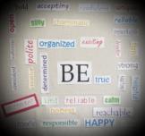 Inspirational Words Bulletin Board