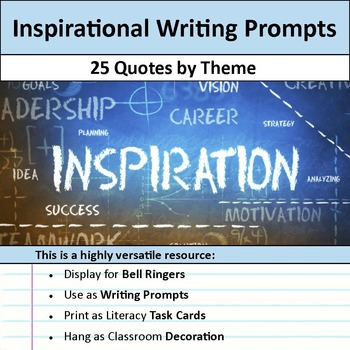 Inspirational Writing Prompts