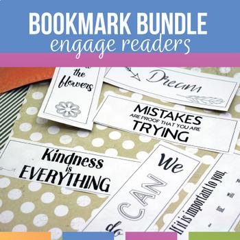 Inspirational and Community Building Bookmarks #LastMinuteGiftsForBigKids