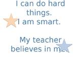 Inspirational classroom poster