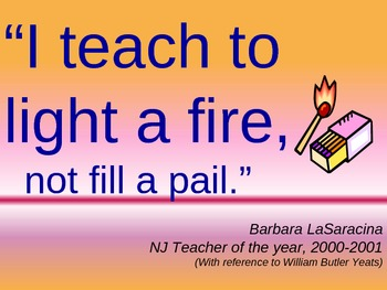Inspirational Teaching Quotes Unique Inspirational Teaching Quotes  Powerpoint Rotating Slides.