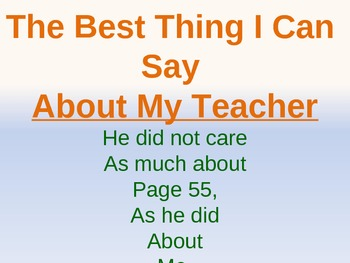 Inspirational teaching quotes - PowerPoint rotating slides