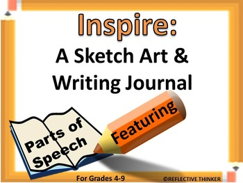 Inspire: A Sketch Art and Writing Journal