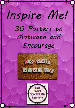 Inspire Me Posters - Jelly Bubbles Set