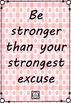 Inspire Me Posters - Pale Pink Set