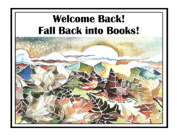 Welcome Back Read Posters