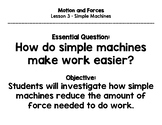 Inspire Science - 3rd Grade - Essential Questions, Objecti