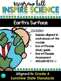 Inspire Science Assessments - GRADE 4, EARTH'S SURFACE