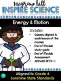 Inspire Science Assessments - GRADE 4, ENERGY & MOTION