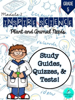 Inspire Science Assessments - GRADE 5, MODULE 3
