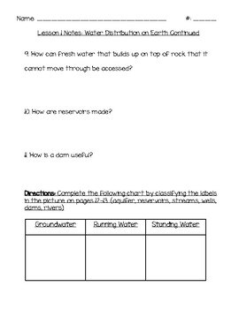 Inspire Science- Grade 5 Unit 3: Interactions of Ecosystems: Module 1