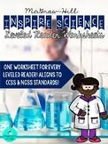 Inspire Science Leveled Reader Worksheets - Grade 5