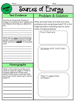 Inspire Science Leveled Reader Worksheets - GRADE 4 by Common Core ...