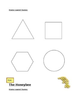 Inspired By Bees. Tessellating 3-d shapes activity