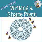 Writing a Shape or Concrete Poem - Distance Learning