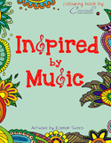 Inspired by Music Colouring Book