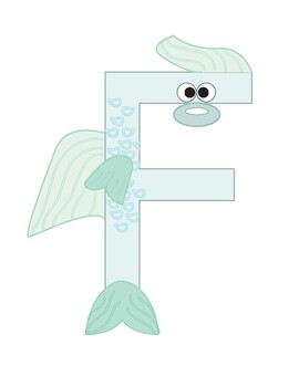 Inspired by Zoo Phonics, Letter of the Day: F is for Fish