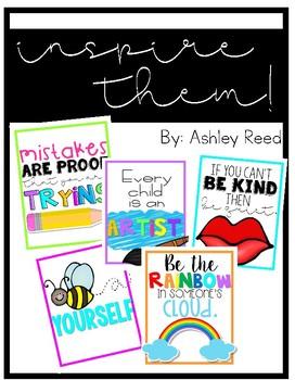 Inspiring Classroom Art Prints | Quotes