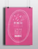 Inspiring Disney Decor Quote Poster - Digital Download Pri