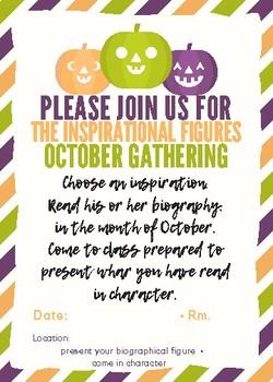Inspiring Figures October Biography Project