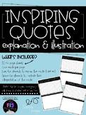 Inspiring Quotes Explanation & Illustration
