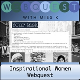 Inspiring Women Webquest