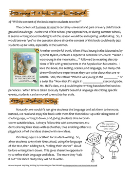Inspiring Writing by Innovating on Repetitive Mentor Texts