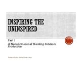 Inspiring the Uninspired Workshop Part 1