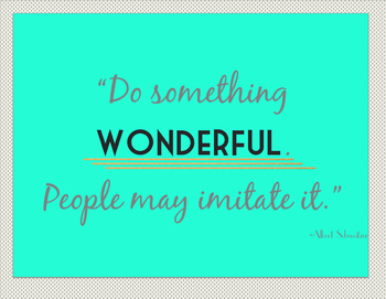 Inspriational Quote Posters - Classroom or Office Decorations (2)